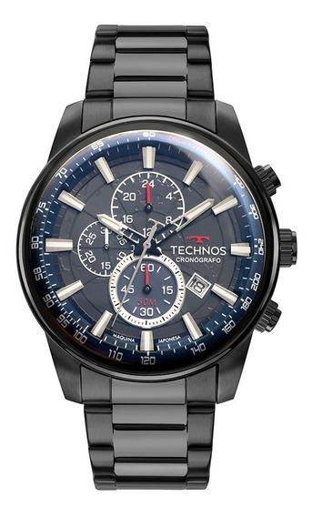 Relógio Technos Masculino Grandtech Js15fp/4p Preto