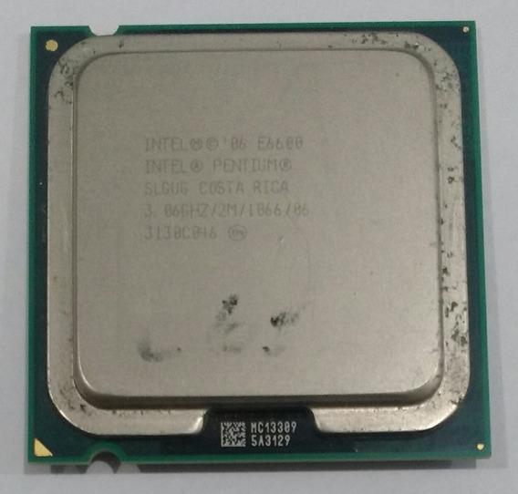 Processador Intel Pentium E6600 3.06ghz/2m/1066/06 3130c046