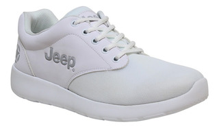 Tenis Jeep Js301 Blanco