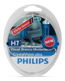 Lampada H7 Philips 4300k Cristal Vision Super Branca Crysta