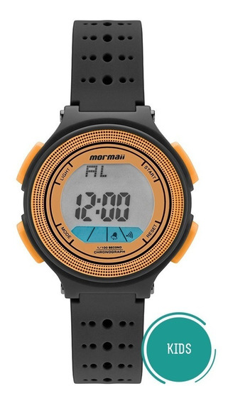 Relógio Mormaii Infantil Wave Mo0974c/8l Larania Digital