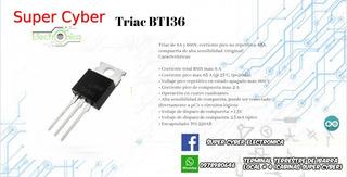 Triac Bt136 (x2)