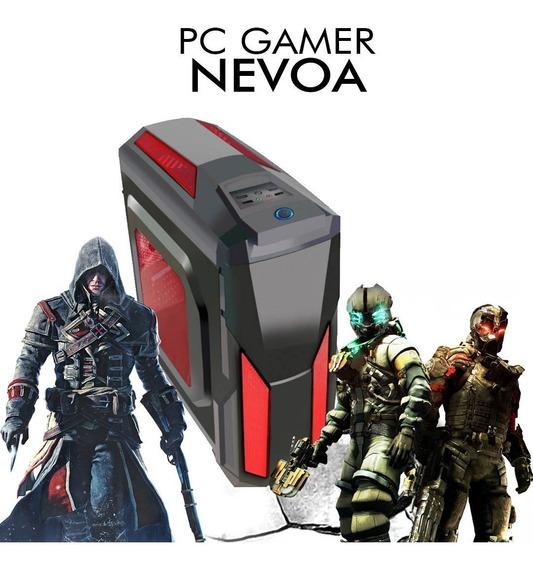 Pc Gamer Nevoa - Intel Pentium G5400, Gtx 1060 6gb, 1tb, 8gb