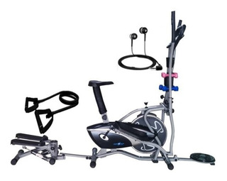 Bicicleta Elíptica Estática 10en1 Monitor Sensor Banda Spor
