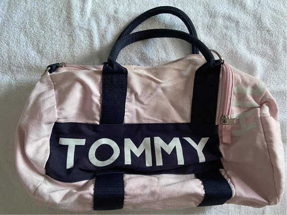 Bolso Tommy Rosa. Usado Muy Cuidado!