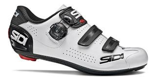 Sapatilha Sidi Alba 2 Branco/preto , 2020 , Speed , Road