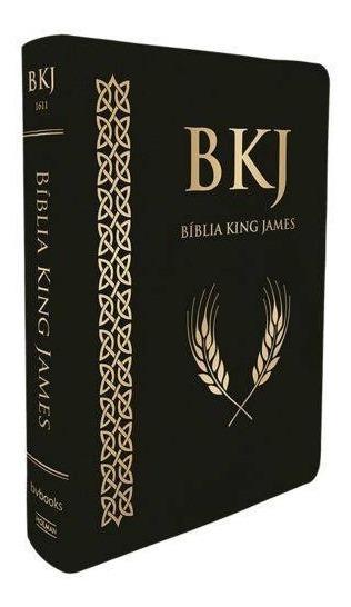 Bíblia King James 1611 Super Luxo (letra Ultra Gigante Preta