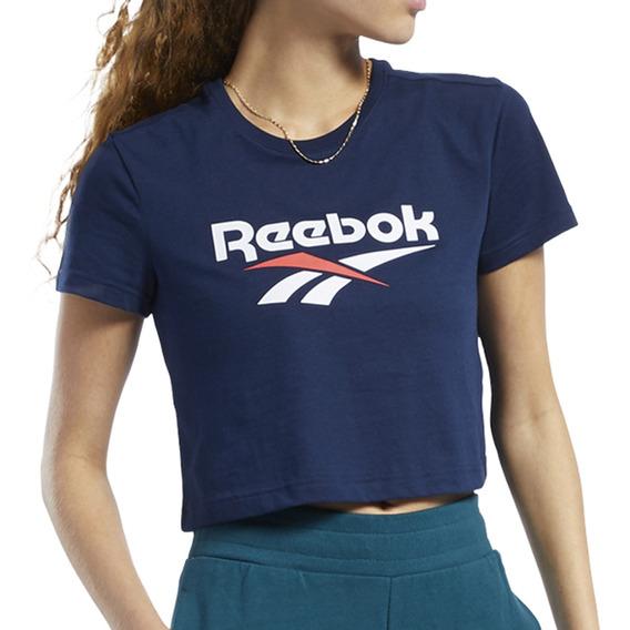 Remera Reebok Moda Classic Vector Mujer Mn