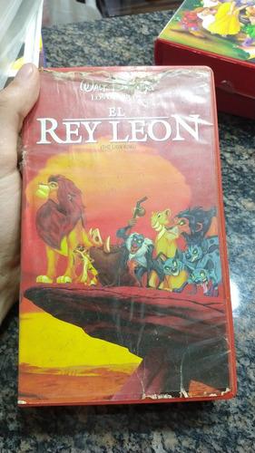 Rey León Vhs De Disney Original