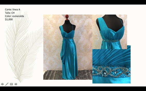 Vestido Color Esmeralda