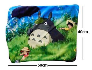 Funda De Almohada Mi Vecino Totoro Satsuki Mei Pasto Calidad