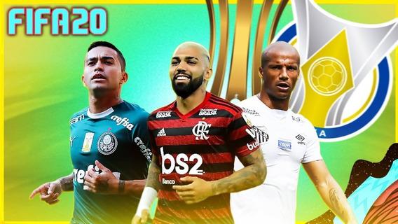 Patch Fifa 20 Brasileirão 100 % Licenciado Envio Imediato!!!