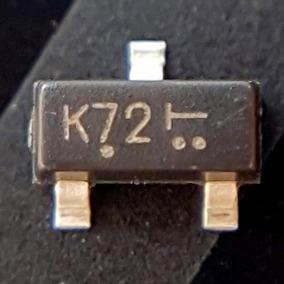 10pçs, 702 Transistor Smd Mosfet 2n7002 60v