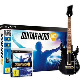 Guitar Hero Ps3 Hero Live Jogo E Guitarra