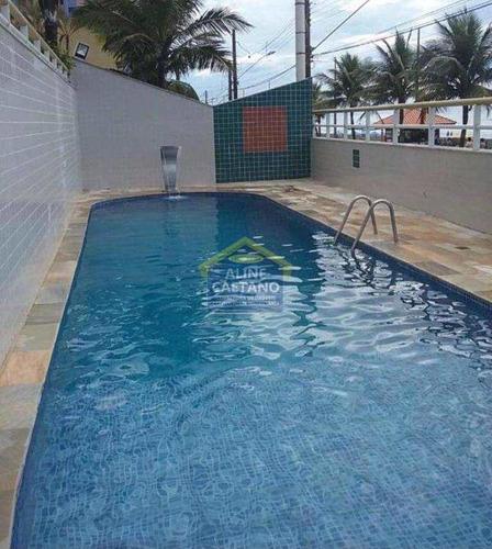 *molezinha/ap/1dorm/sala/sacada/piscina/perto/praia/mobiliado* - Vtft726