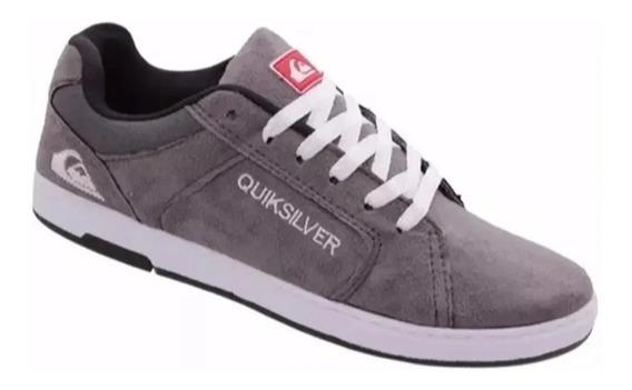 Tênis Quik 2 Pares Skate/casual Camurça Promoção