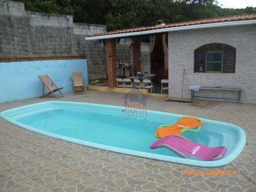 Chácara Com 1 Dormitório À Venda, 810 M² Por R$ 350.000,00 - Mato Dentro - Mairiporã/sp - Ch0111