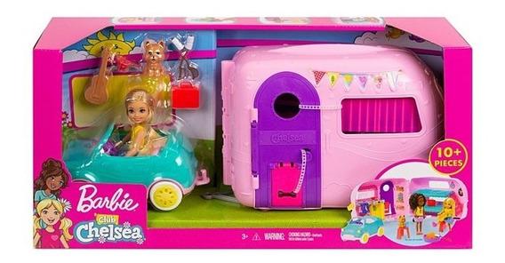 Boneca Barbie Camper De Chelsea Fxg90 Mattel