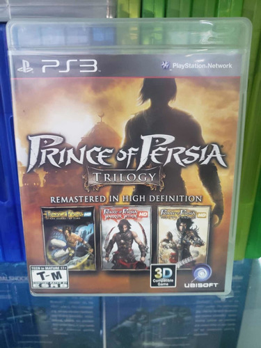 Prince Of Persia Classic Trilogy Ps3