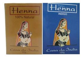 Henna E Índigo Henna Orgânico Casa Da Índia Frete Fixo