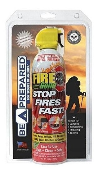 Boy Scouts Of America Fire Gone Fgbsa-1300 Rojo Y Blanco 6.7