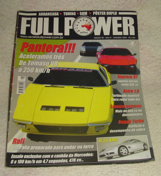 Revista Fullpower Edição 8 - Dezembro 2002.