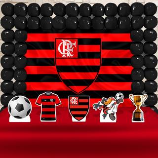 Kit Decoração Festa Aniversário Flamengo , Cenários