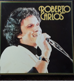 Caixa Com 6 Discos Do Roberto Carlos