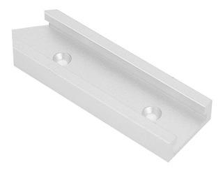 500 mm T-Track Riel en T de aluminio para madera con ranura en T para tope de pista T-Slot