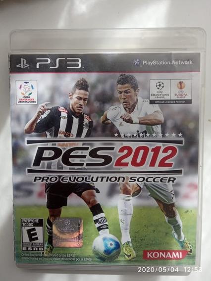 Usado: Pes 2012 (pro Evolution Soccer 2012) - Playstation 3