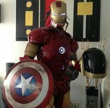 Alquiler De Show Muñecotes,avengers,robots Leds,ironman