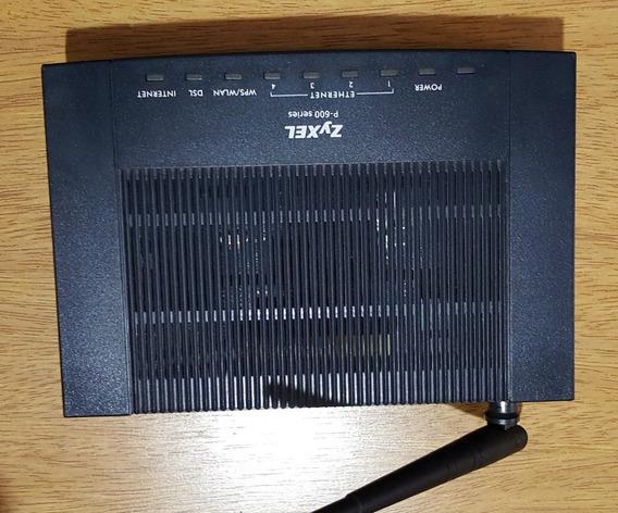 Modem Router Adsl Zyxel P660hw T1