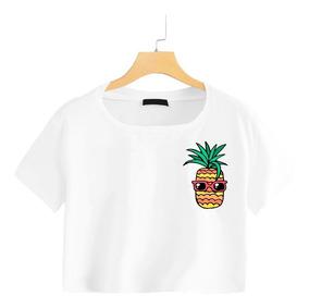 524371bc7b Camisetas Blanca Mujer Con Piñas - Ropa y Accesorios en Mercado ...