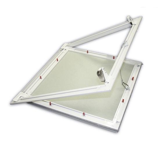 Alçapão Com Tampa Para Drywall Forro Gesso 60x60cm