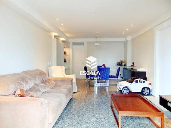 Apartamento Com 3 Dormitórios À Venda, 130 M² Por R$ 620.000,00 - Aldeota - Fortaleza/ce - Ap1356