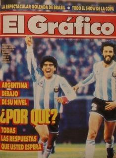 El Grafico 3534 Copa America 1987 Argentina 1 Peru 1