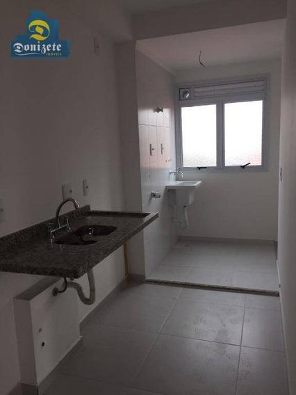 Apartamento Com 1 Dormitório À Venda, 42 M² Por R$ 345.000,00 - Vila Alpina - Santo André/sp - Ap1277