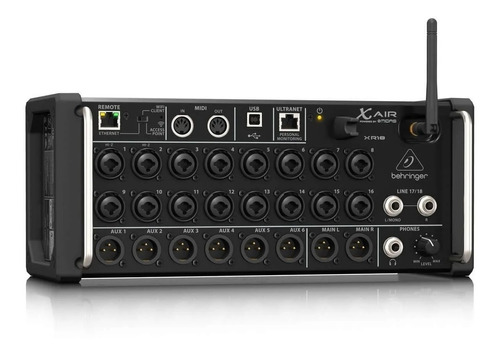 Behringer X Air Xr18 Mixer Digital 18 Canales Multipista