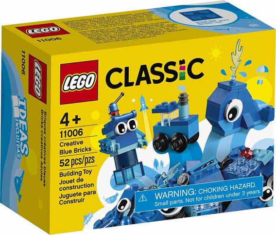 Lego Classic - Peças Azuis Criativas - Lego 11006 Lego
