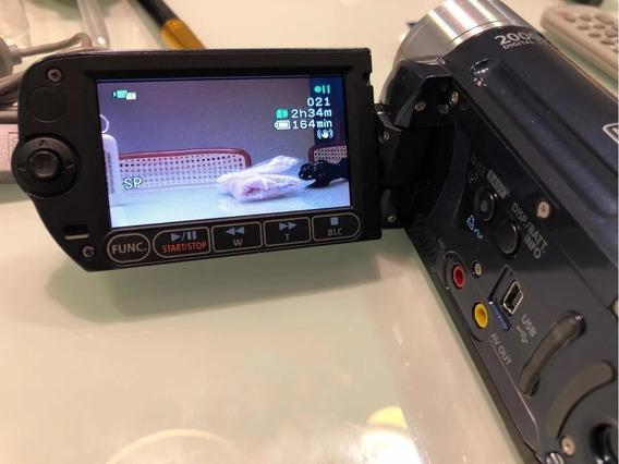 Filmadora Canon Fs100 Zoom 2000 X Camera Filmadora Canon