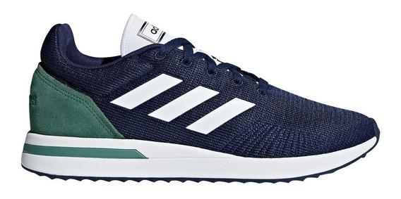 Tenis adidas Masculino Run 70s Branco Azul
