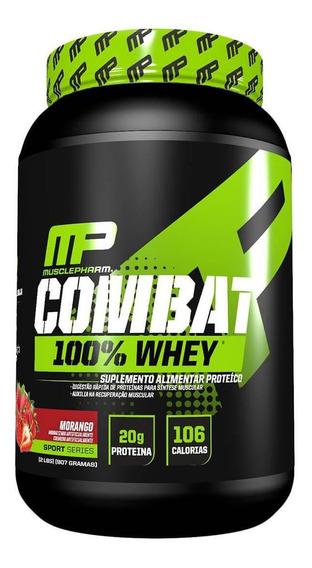 Combat 100% Whey 900g Muscle Pharm Mp
