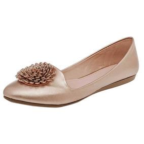 Zapato De Piso Dama Clasben 173416 Oro Rosa 22-26 U80037 T2