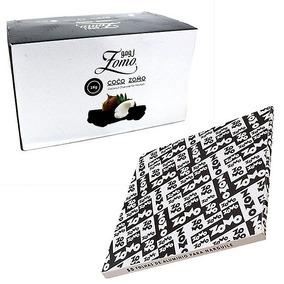 1 Kg Carvão Narguile Zomo + 1 Pacote Aluminio Resistente Top