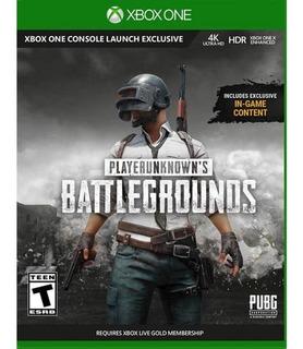Playerunknown´s Battlegrounds (pubg) Xbox One/global