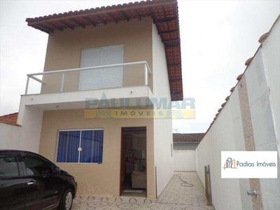 Sobrado Com 2 Dorms, Jardim Praia Grande, Mongaguá - R$ 290.000,00, 120m² - Codigo: 53208 - A53208