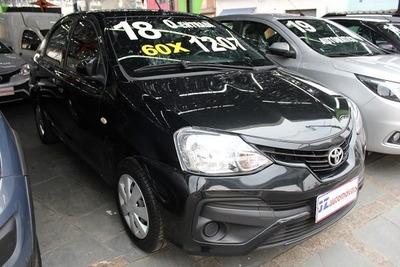 Toyota Etios Sedan X 1.5 Aut Oportunidade Financiamento Bom
