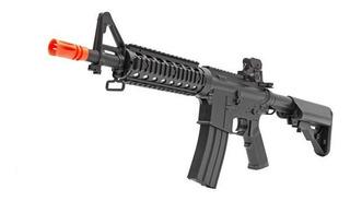 Rifle Airsoft Elétrico Bivolt Cyma 716 M4a1 Cqb 6mm 300fps