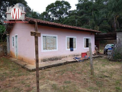 Ótima Chácara Com 3 Dormitórios, Córrego, Pomar, Excelente Localização, À Venda, 3000 M² Por R$ 215.000 - Zona Rural - Pinhalzinho/sp - Ch0848