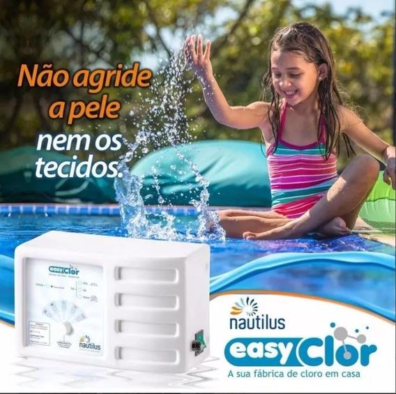 Gerador De Cloro Nautilus Easyclor 15 Al G4